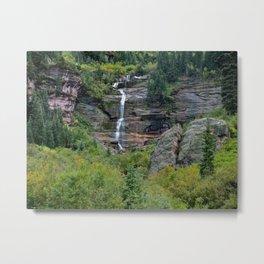 WaterFall in Telluride Metal Print