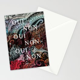 _OUI NON Stationery Cards