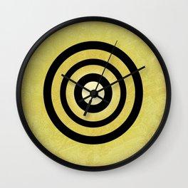 Adinkrahene - Adinkra Art Poster Wall Clock
