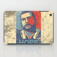 mass effect iPad Cases featuring Mass Effect : HOPE by GIOdesign