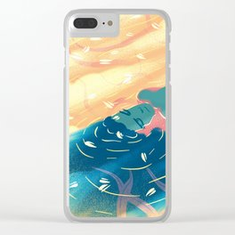 heaven river Clear iPhone Case