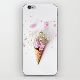 Stock Flower Cone iPhone Skin