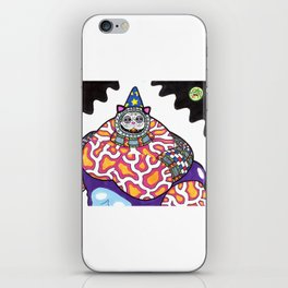 Feliousnaut the Wizard iPhone Skin