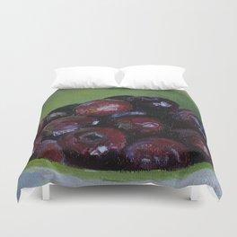 Cherries fruit Duvet Cover