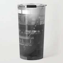 Le Touquet in black and white, February Travel Mug