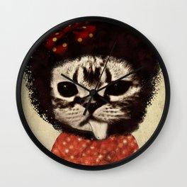 Cat (Pack-a-cat) Wall Clock