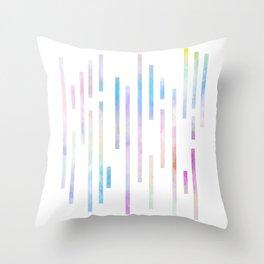 Minimalist Lines - Pastel Throw Pillow