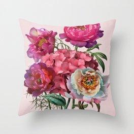 Flower garden V Throw Pillow