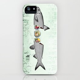 fresh sushi iPhone Case