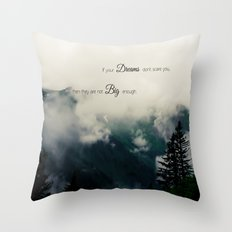 Dream Big II Throw Pillow