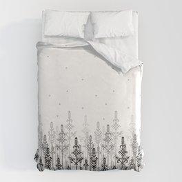White field Duvet Cover