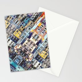 Apartments In The City Stationery Cards