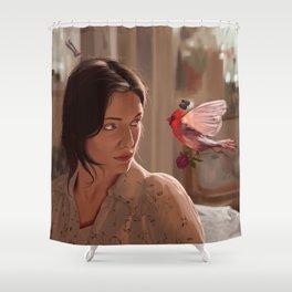 fourteen Shower Curtain