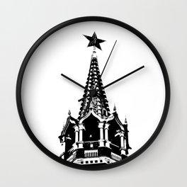 Kremlin Chimes-b&w Wall Clock