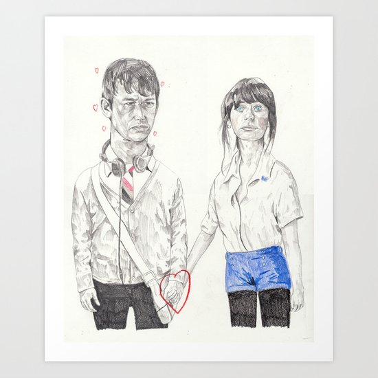 Tom and Summer Art Print