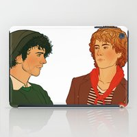 grantaire iPad Cases featuring E & R by rdjpwns
