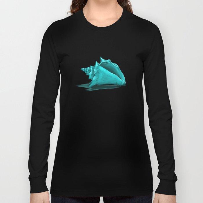 Aura the Seashell - illustration Long Sleeve T-shirt