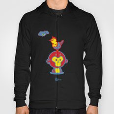 The Monkey and The Rooster  Hoody