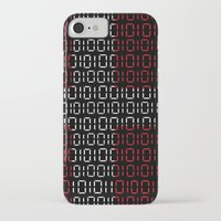 denmark iPhone & iPod Cases featuring digital Flag (Denmark) by seb mcnulty