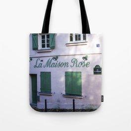 La Maison Rose Montmartre Paris Tote Bag