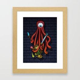 Delver RPG Framed Art Print