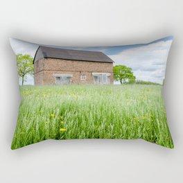 Abandoned Barn Rectangular Pillow