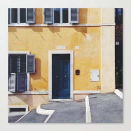 ITALY ROME Print Travel Wall Art Home Decor Set of 4 Prints Square Prints SALE Canvas Print