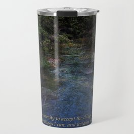 Serenity Prayer Blue Creek Travel Mug
