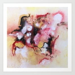Abstract 1 by Saribelle Art Print