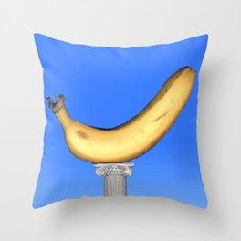 Ionic Banana Throw Pillow