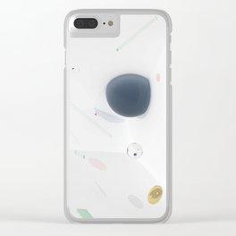 Emerging Suspense Clear iPhone Case