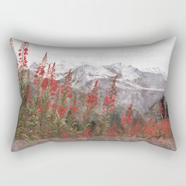 French Alps  Rectangular Pillow