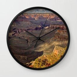 Grand Canyon viewed from Cedar Ridge South Kaibab Trail Wall Clock