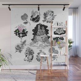 Inktober Collection Flash Sheet Wall Mural