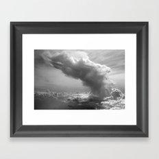 Explosion in the Sky Framed Art Print