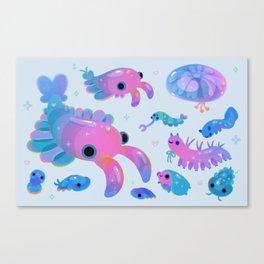 Cambrian baby - pastel Canvas Print