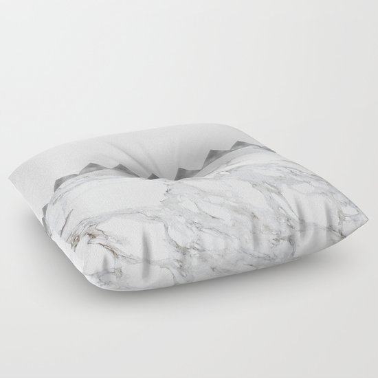 Adoring Grey Floor Pillow by Cadinera Society6