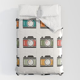 Colourful Camera Icons Comforters