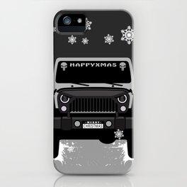 HAPPYXMAS Offroading iPhone Case