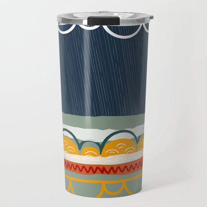 april showers Travel Mug