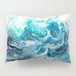 Green Wave #1 Pillow Sham
