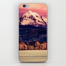 Mt Hood on Columbia River iPhone Skin