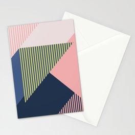 Color Blocking Minimal 1 Stationery Cards