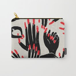 hands, fingers, nails & fingernails Carry-All Pouch