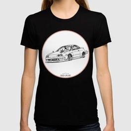 Crazy Car Art 0193 T-shirt