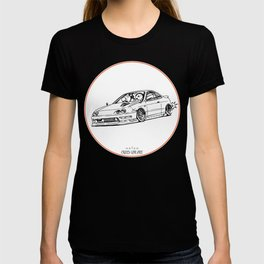 Crazy Car Art 0193 T-shirt