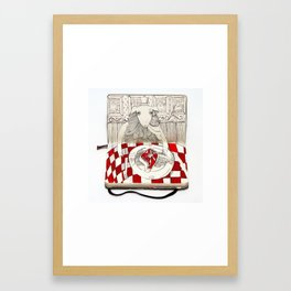 The Last Supper (Sheep) Framed Art Print
