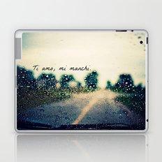 i love you, i miss you.  Laptop & iPad Skin