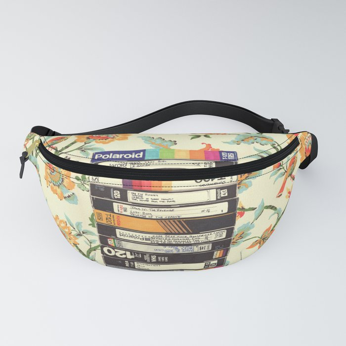 VHS & Entry Hall Wallpaper Fanny Pack