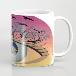 The world, earth and the environment in view Coffee Mug
